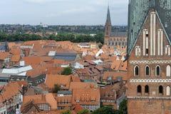Χανσεατική πόλη Luneburg, Γερμανία Στοκ φωτογραφία με δικαίωμα ελεύθερης χρήσης