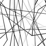 Χαοτική τυχαία άνευ ραφής σύσταση γραμμών Στοκ εικόνα με δικαίωμα ελεύθερης χρήσης
