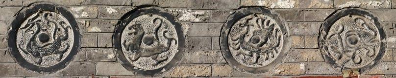 Χαράζοντας πέτρα Στοκ φωτογραφία με δικαίωμα ελεύθερης χρήσης