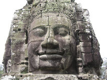 χαράζοντας πέτρα angkor wat στοκ εικόνα