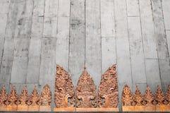 χαράζοντας Ταϊλανδός Στοκ Εικόνες