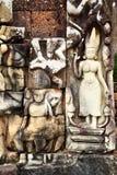 χαράζοντας khmer πέτρα Στοκ εικόνες με δικαίωμα ελεύθερης χρήσης