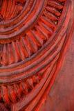 χαράζοντας maori πρότυπο Στοκ Εικόνα