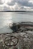Χαράξεις βράχου Στοκ φωτογραφία με δικαίωμα ελεύθερης χρήσης