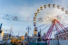 Χαρά κέντρων της πόλης Στοκ φωτογραφία με δικαίωμα ελεύθερης χρήσης