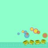 Χαρά καφέ φλυτζανιών απεικόνιση αποθεμάτων