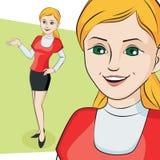 Χαρακτήρας επίσης corel σύρετε το διάνυσμα απεικόνισης Στοκ Φωτογραφία