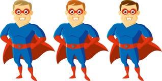 Χαρακτήρας κινουμένων σχεδίων Superhero Στοκ εικόνα με δικαίωμα ελεύθερης χρήσης