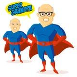 Χαρακτήρας κινουμένων σχεδίων Superhero Στοκ Εικόνα