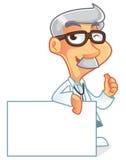 Χαρακτήρας κινουμένων σχεδίων γιατρών Στοκ φωτογραφία με δικαίωμα ελεύθερης χρήσης