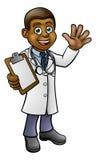 Χαρακτήρας κινουμένων σχεδίων γιατρών Στοκ Φωτογραφίες