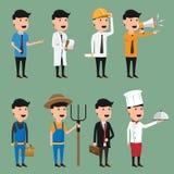 Χαρακτήρας κινουμένων σχεδίων της διανυσματικής απεικόνισης επαγγέλματος engineering διανυσματική απεικόνιση