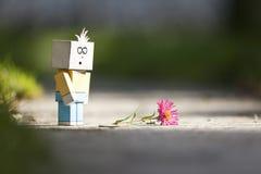χαρακτήρας λυπημένος Στοκ φωτογραφία με δικαίωμα ελεύθερης χρήσης