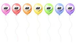 χαρακτήρας μπαλονιών Στοκ Φωτογραφία