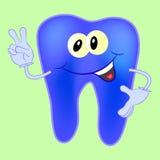 Χαρακτήρας δοντιών Στοκ Εικόνες
