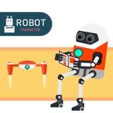 Χαρακτήρας ρομπότ Στοκ Εικόνες