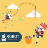 Χαρακτήρας ρομπότ Στοκ Φωτογραφίες