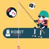 Χαρακτήρας ρομπότ Στοκ Φωτογραφία