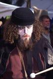 Χαρακτήρας στο μεσαιωνικό φεστιβάλ στοκ εικόνα με δικαίωμα ελεύθερης χρήσης