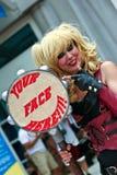 Χαρακτήρας του Harley Quinn στοκ εικόνα με δικαίωμα ελεύθερης χρήσης