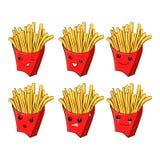 Χαρακτήρας χαρτονιού επιλογών εστιατορίων παιδιών Πρότυπο για τα προγράμματά σας, ιστοχώροι, προσκλήσεις Αστείες χαριτωμένες συρμ ελεύθερη απεικόνιση δικαιώματος