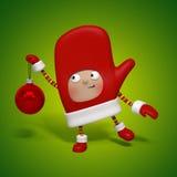 Χαρακτήρας Χριστουγέννων Στοκ εικόνα με δικαίωμα ελεύθερης χρήσης