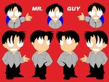 Χαρακτήρας Anime Chibi Στοκ Εικόνες