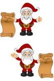 Χαρακτήρας Santa - άτακτος & κατάλογος της Νίκαιας διανυσματική απεικόνιση