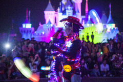 Χαρακτήρες νεράιδων Disneyland Στοκ Φωτογραφίες