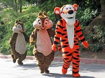 Χαρακτήρες της Disney στοκ φωτογραφίες