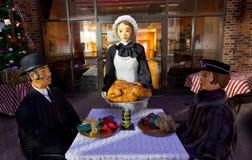 Χαρακτήρες του Καίμπριτζ Οχάιο Dickens Στοκ φωτογραφία με δικαίωμα ελεύθερης χρήσης