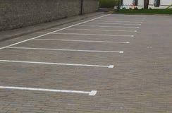 Χαρακτηρισμός στάθμευσης Στοκ φωτογραφίες με δικαίωμα ελεύθερης χρήσης