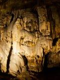 Χαρακτηριστικά γνωρίσματα καρστ σπηλιών Στοκ Εικόνες