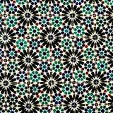 Χαρακτηριστικά ζωηρόχρωμα μαροκινά, πορτογαλικά κεραμίδια, Azulejo, διακοσμήσεις στοκ φωτογραφία με δικαίωμα ελεύθερης χρήσης