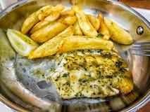 Χαρακτηριστικά περιφερειακά τρόφιμα, kingklip ψάρια, Νότια Αφρική Στοκ εικόνα με δικαίωμα ελεύθερης χρήσης
