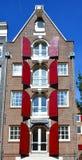 Χαρακτηριστικά σπίτια καναλιών Στοκ εικόνες με δικαίωμα ελεύθερης χρήσης