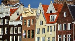 Χαρακτηριστικά σπίτια καναλιών Στοκ φωτογραφίες με δικαίωμα ελεύθερης χρήσης