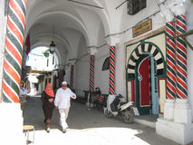 Ένα Hamam στο medina. Τυνησία. Τυνησία Στοκ εικόνα με δικαίωμα ελεύθερης χρήσης