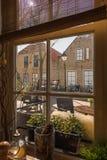 Χαρακτηριστική άποψη από μια ιστορική ιδιοκτησία στις Κάτω Χώρες στοκ φωτογραφίες