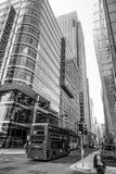 Χαρακτηριστική άποψη οδών στο Canary Wharf - ΛΟΝΔΙΝΟ - ΜΕΓΑΛΗ ΒΡΕΤΑΝΊΑ - 19 Σεπτεμβρίου 2016 Στοκ φωτογραφίες με δικαίωμα ελεύθερης χρήσης