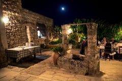 Χαρακτηριστική αγροικία Apulian Στοκ Εικόνα