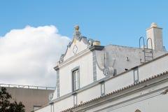 Χαρακτηριστική αρχιτεκτονική του Αλγκάρβε Στοκ Φωτογραφίες