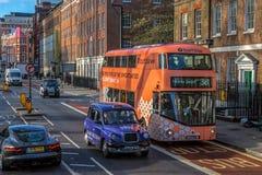 Χαρακτηριστική οδός στο Λονδίνο Στοκ Εικόνα