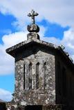 Χαρακτηριστική οικοδόμηση βόρεια της Ισπανίας Στοκ Εικόνα