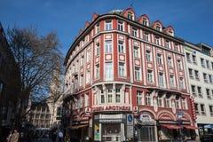 Χαρακτηριστική οικοδόμηση Μόναχο Γερμανία Στοκ εικόνα με δικαίωμα ελεύθερης χρήσης