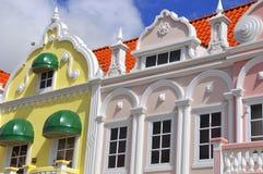 Χαρακτηριστική ολλανδική αρχιτεκτονική σχεδίου Στοκ Εικόνες