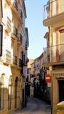 Χαρακτηριστική οδός-Antequera-Ανδαλουσία-Ισπανία Στοκ Εικόνα