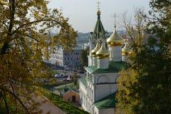 Χαρακτηριστική ρωσική εκκλησία Στοκ εικόνα με δικαίωμα ελεύθερης χρήσης