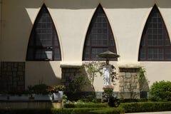 Χαρακτηριστική ogive αψίδα σε έναν καθεδρικό ναό στοκ εικόνες