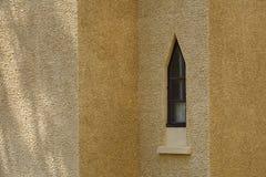 Χαρακτηριστική ogive αψίδα σε έναν καθεδρικό ναό στοκ φωτογραφία